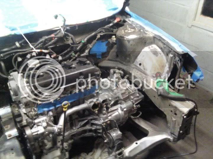 VK56DE RWD Conversion :P | Nissan Forums