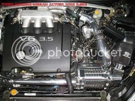 FS: Altima 3 5 SE 2002 Supercharger Kit MP90 Eaton | Nissan Forums