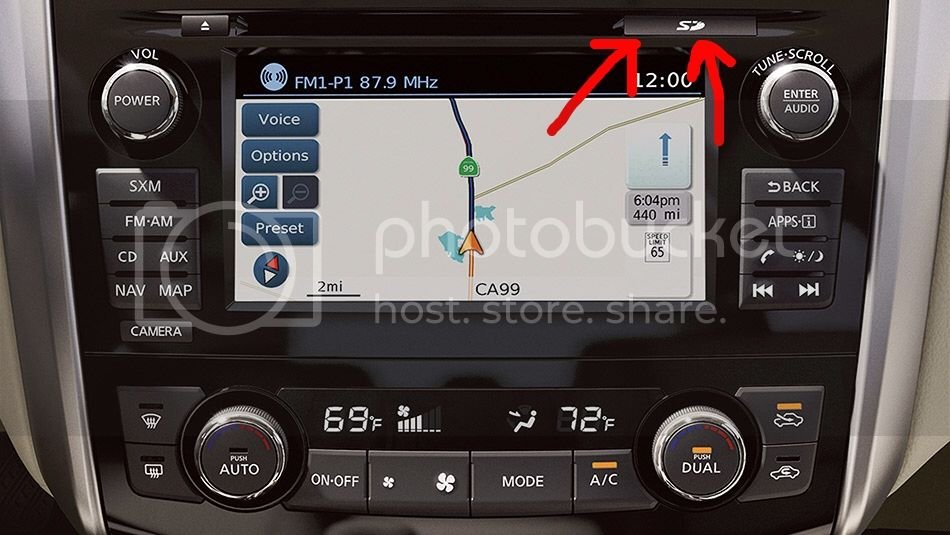 GPS update on sale $99 | Nissan Forums