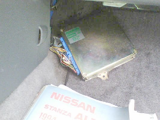 Installing and Tuning a S13 ECU in a '94 Altima   Nissan Forums