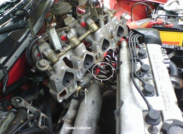 My Intake Gasket Replacement | Nissan Forums